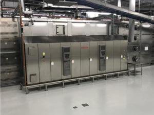 Quadro elettrico controllo e gestione automazione linea produzione pane per cliente svizzero.